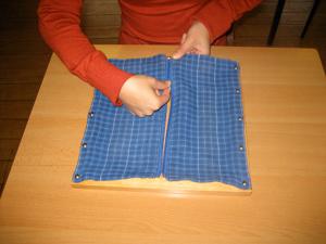 dressing frame zippersliding the